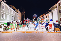 17.01.2020, Hauptplatz, Lienz, AUT, Dolomitenlauf, Dolomitensprint, im Bild Feature // during the Dolomitenlauf Dolomitensprint at the main square, Lienz, Austria on 2020/01/17, EXPA Pictures © 2020 PhotoCredit: EXPA/ Dominik Angerer