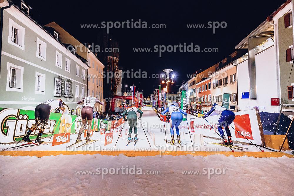 17.01.2020, Hauptplatz, Lienz, AUT, Dolomitenlauf, Dolomitensprint, im Bild Feature // during the Dolomitenlauf Dolomitensprint at the main square, Lienz, Austria on 2020/01/17, EXPA Pictures © 2020 PhotoCredit: EXPA/ Dominik Angerer