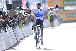 October 20, 2018 - Boom, France - VAN DER POEL Mathieu (NED) of CORENDON - CIRCUS celebrates the victory of the 2nd leg of the men elite and U23 Telenet Superprestige cyclocross race (Credit Image: © Panoramic via ZUMA Press)