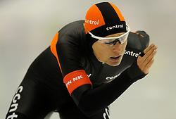29-12-2010 SCHAATSEN: KPN NK ALLROUND EN SPRINT: HEERENVEEN<br /> Diane Valkenburg wordt 2de op de 1500 meter<br /> ©2010-WWW.FOTOHOOGENDOORN.NL