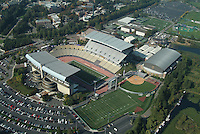aerial view of university of Washington, Seattle, Husky Stadium