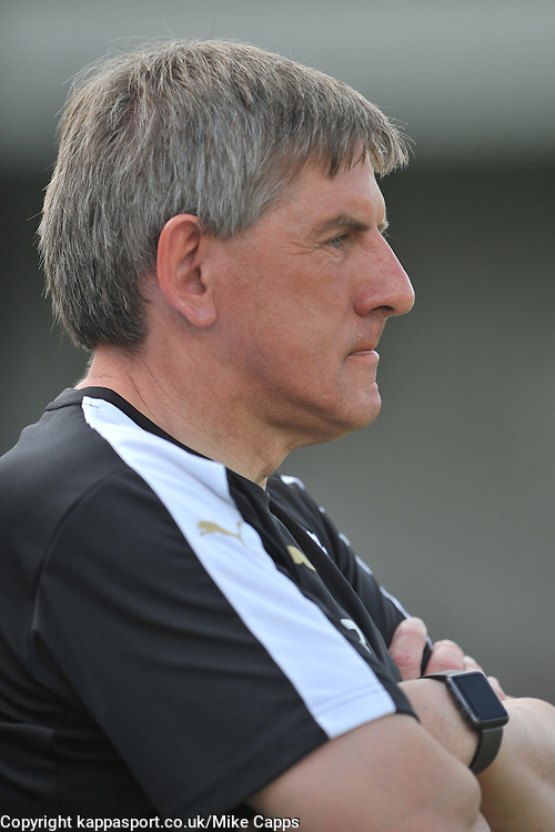 PETER BEARDSLEY MANAGER NEWCASTLE UNITED X11, Corby Town v Newcastle Utd X11, Steel Park Cup, Steel Park 23rd July 2016Corby Town v Newcastle Utd X11, Steel Park Cup, Steel Park 23rd July 2016