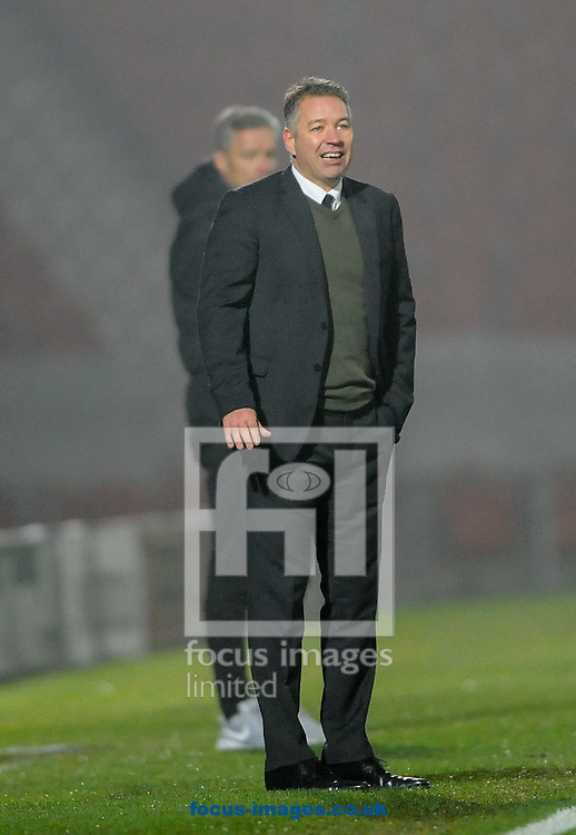 Darren Ferguson Manager of Doncaster Rovers during the Sky Bet League 2 match at the Keepmoat Stadium, Doncaster<br /> Picture by Richard Land/Focus Images Ltd +44 7713 507003<br /> 26/11/2016