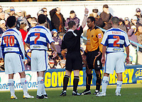Photo: Kevin Poolman.<br />Queens Park Rangers v Wolverhampton Wanderers. Coca Cola Championship. 04/03/2006. <br />Wolves' Paul Ince (2nd, R) is booked.