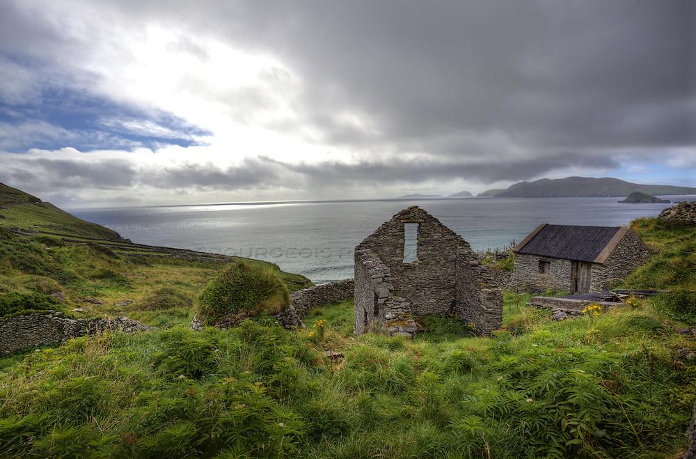 Along the Dingle Peninsula in Southwest Ireland Photos of Ireland taken by world travel stills photographer and cinematographer, LeLinda Bourgeois, of Bourgeois Photography