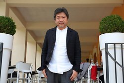 May 9, 2017 - Rome, Italy - Japanese director Kore-eda Hirokazu at Casa del Cinema in Rome (Credit Image: © Matteo Nardone/Pacific Press via ZUMA Wire)