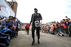 Paul Pogba of Manchester United arrives at Turf Moor - Mandatory by-line: Robbie Stephenson/JMP - 02/09/2018 - FOOTBALL - Turf Moor - Burnley, England - Burnley v Manchester United - Premier League