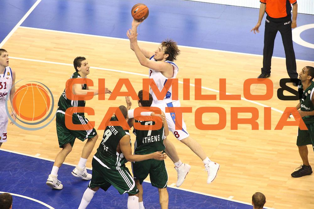 DESCRIZIONE : Berlino Eurolega 2008-09 Final Four Finale Panathinaikos Atene CSKA Mosca <br /> GIOCATORE : Matjaz Smodis<br /> SQUADRA : CSKA Mosca<br /> EVENTO : Eurolega 2008-2009 <br /> GARA : Panathinaikos Atene CSKA Mosca <br /> DATA : 03/05/2009 <br /> CATEGORIA : tiro<br /> SPORT : Pallacanestro <br /> AUTORE : Agenzia Ciamillo-Castoria/G.Ciamillo