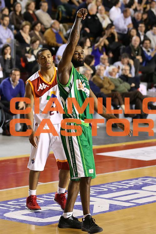 DESCRIZIONE : Roma Lega A 2012-13 Acea Roma Sidigas Avellino<br /> GIOCATORE : Taquan Dean<br /> CATEGORIA : esultanza<br /> SQUADRA : Sidigas Avellino<br /> EVENTO : Campionato Lega A 2012-2013 <br /> GARA : Acea Roma Sidigas Avellino<br /> DATA : 07/04/2013<br /> SPORT : Pallacanestro <br /> AUTORE : Agenzia Ciamillo-Castoria/ElioCastoria<br /> Galleria : Lega Basket A 2012-2013  <br /> Fotonotizia : Roma Lega A 2012-13 Acea Roma Sidigas Avellino<br /> Predefinita :
