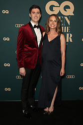 Celebrities and VIPs arrive on the black carpet for the 2018 GQ Men of the Year Awards presented by AUDI at The Star, Sydney. 14 Nov 2018 Pictured: Josh Niland and Julie Niland. Photo credit: Richard Milnes / MEGA TheMegaAgency.com +1 888 505 6342