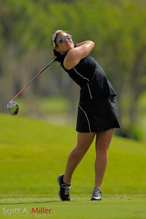 Rachel Rohanna during second round of the Symetra Tour's Guardian Retirement Championship at Sara Bay in Sarasota, Florida April 27, 2013. ..©2013 Scott A. Miller