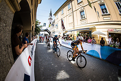 Aljaz Prah (SLO) of Ljubljana Gusto Santic during 2nd Stage of 26th Tour of Slovenia 2019 cycling race between Maribor and Celje (146,3 km), on June 20, 2019 in  Slovenia. Photo by Peter Podobnik / Sportida