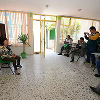 Toluca, México (Mayo 24, 2016).- La Dr. Luz Cárdenas, que encabeza la Asociación de Medicina del Deporte del Estado de México (AMED) en conferencia de prensa anuncio el IV Congreso Internacional de Medicina del Deporte en la capital mexiquense este 26, 27 y 28 de mayo, teniendo como sede el Auditorio del Museo Torres Bicentenario.  Agencia MVT / Crisanta Espinosa