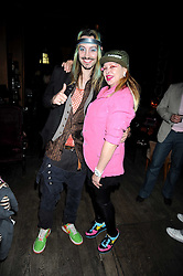 ROCKY MAZZILLI and LOUISE MAZZILLI at Maria Castani's birthday party held at Sketch, 9 Conduit St, London on 14th July 2008.<br /> <br /> NON EXCLUSIVE - WORLD RIGHTS