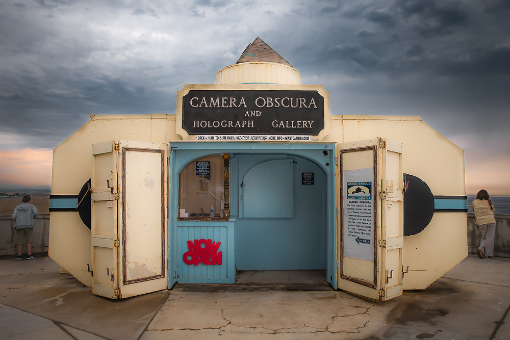 Camera Obscura, at Cliff House. San Francisco, CA. Copyright 2017 Reid McNally.