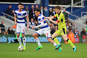 Queens Park Rangers midfielder Ravel Morrison (49) dribbling and starting an attack during the EFL Sky Bet Championship match between Queens Park Rangers and Rotherham United at the Loftus Road Stadium, London, England on 18 March 2017. Photo by Matthew Redman.