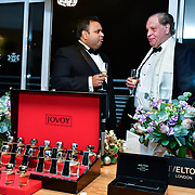 Kevin Rochay Chairman and  Michael Gelard attend Rochay High Society Soiree with Jovoy at Westbury Mayfair grafton suite on 21 November 2019, London, UK.