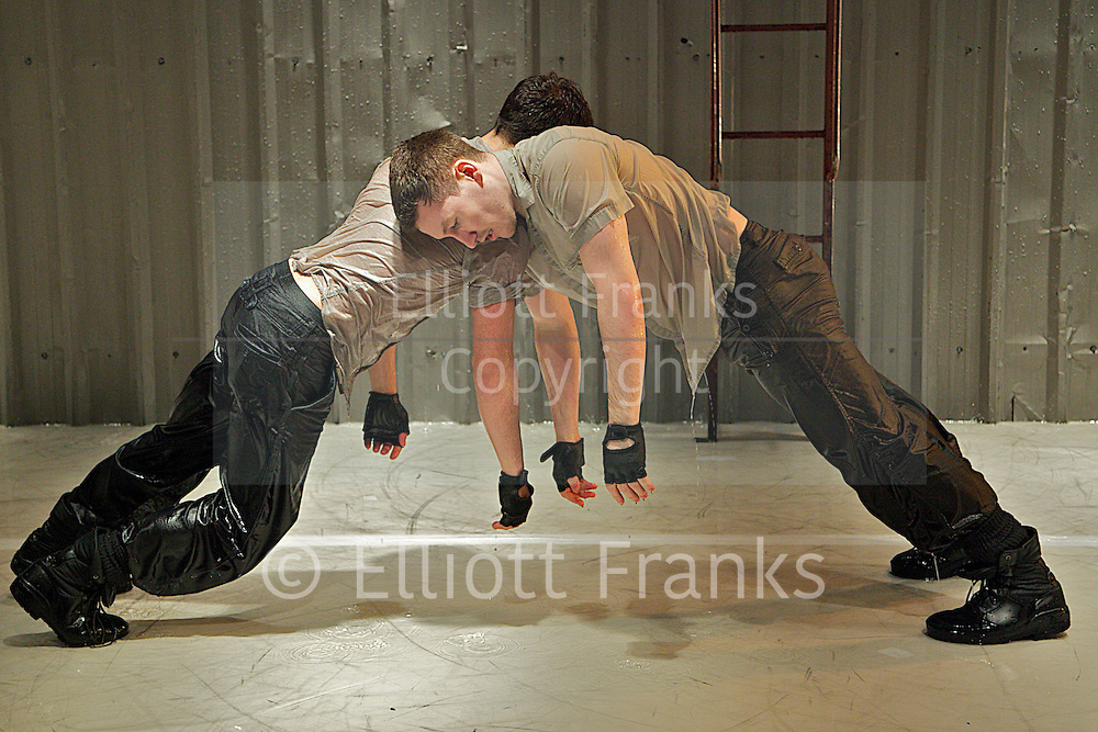 At Swim Two Boys; by O'Neill<br /> by Ennis and Cohen<br /> with Murilo Leite D'Imperio<br /> Daniel Connor<br /> at The Riverside Studios,  London, Great Britain <br /> Press photocall <br /> 7th February 2012<br /> <br /> Photograph by Elliott Franks