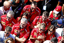 July 8, 2018 - Silverstone, Great Britain - Motorsports: FIA Formula One World Championship 2018, Grand Prix of Great Britain, .Maurizio Arrivabene (ITA, Scuderia Ferrari) (Credit Image: © Hoch Zwei via ZUMA Wire)