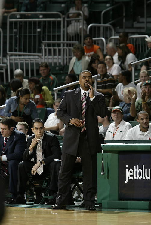 2008 University of Miami Men's Basketball vs Alabama State