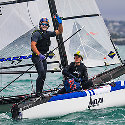 2019 NZ Nacra 17 Nationals