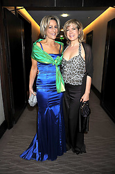 Left to right, EMILY MAITLIS and PENNY SMITH at the 2008 Costa Book Awards held at the Intercontinental Hotel, Hamilton Place, London on 27th January 2009.