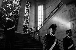 Carabinieri at the Ministry of Economic Development. Rome 12 October 2018. Christian Mantuano / OneShot