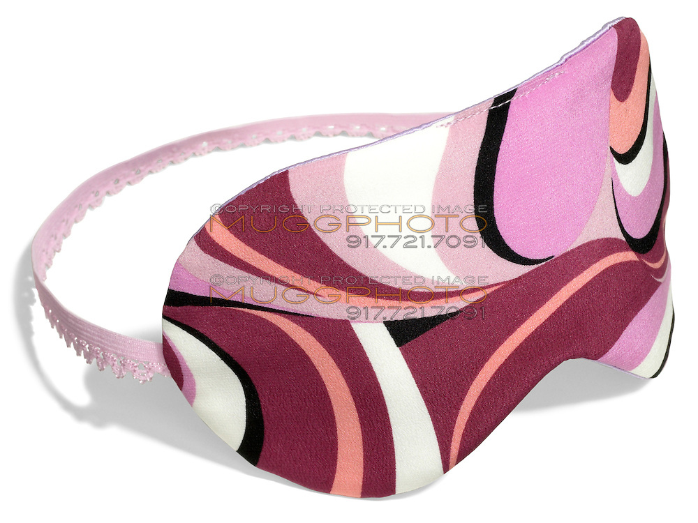 pink eye mask