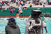 Roland Garros. Paris, France. 26 Mai 2010..Les matchs sont interrompus par la pluie...Roland Garros. Paris, France. May 26th 2010..Rain interrupts matches...