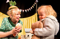 18/10/2012  Siun O Flaherty from Oughterard  were at Nun's Island Theatre for Potato Needs a Bath from Shona Reppe from Scotland which is part of the Baboro International Children's Arts FEstival running till Sunday. PIcture:Andrew Downes