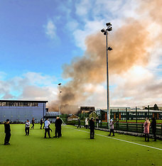 Fire at High School, Peebles, 28 November 2019