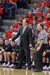 14 January 2017:  Gregg Marshall during an NCAA  MVC (Missouri Valley conference) mens basketball game between the Wichita State Shockers the Illinois State Redbirds in  Redbird Arena, Normal IL