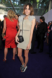 ALEXA CHUNG at the 2009 Glamour Magazine Awards held in Berkeley Square, London on 2nd June 2009.