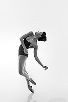 Black and white dance photography-Fallin-featuring Dance As Art ballerina Zui Gomez