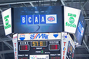 KELOWNA, CANADA - JANUARY 10:  BCAA at the Kelowna Rockets game on January 10, 2018 at Prospera Place in Kelowna, British Columbia, Canada.  (Photo By Cindy Rogers/Nyasa Photography,  *** Local Caption ***