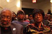6 January 2011- Harlem, New York- Audience at the Opening for The State of African American and African Diaspora Studies Conference held at the The Schomburg Center for Research in Black Culture on January 6, 2011 in the Village of Harlem. Photo Credit Terrence Jennings
