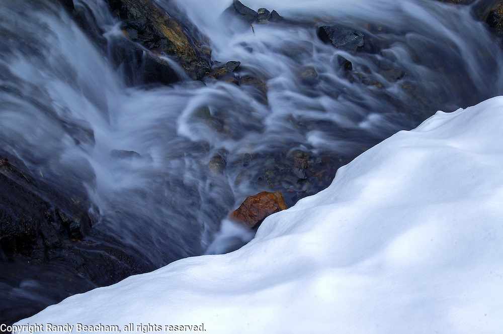 Snowmelt. Northwest Peak Scenic Area in the Purcell Mountains, Montana