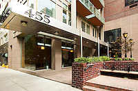 Entrance at 455 East 86th Street