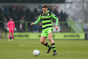 Forest Green Rovers Charlie Cooper(20) during the Vanarama National League match between Forest Green Rovers and Boreham Wood at the New Lawn, Forest Green, United Kingdom on 11 February 2017. Photo by Shane Healey.