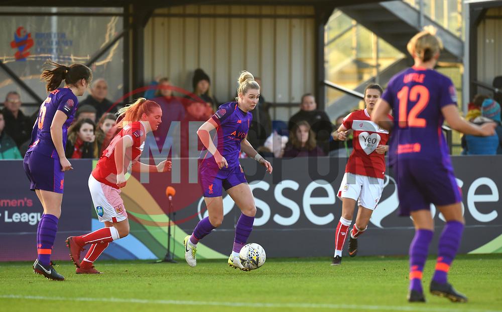 Rhiannon Roberts of Liverpool Women - Mandatory by-line: Paul Knight/JMP - 17/11/2018 - FOOTBALL - Stoke Gifford Stadium - Bristol, England - Bristol City Women v Liverpool Women - FA Women's Super League 1