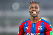 Crystal Palace forward Wilfried Zaha (11) during the Premier League match between Crystal Palace and Southampton at Selhurst Park, London, England on 21 January 2020.