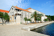 Franciscan monastery and church, island of Badija, Croatia