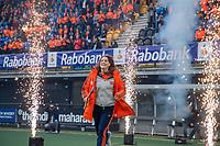 Den Bosch - Rabo fandag 2019 . hockey clinics met de spelers van het Nederlandse team. opkomst van international Marloes Keetels (Ned) .   COPYRIGHT KOEN SUYK