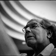 PORTRAITS / RETRATOS<br /> <br /> Adolfo Perez Esquivel<br /> Escultor Argentino, Premio Nobel<br /> Caracas - Venezuela 2004<br /> <br /> (Copyright © Aaron Sosa)