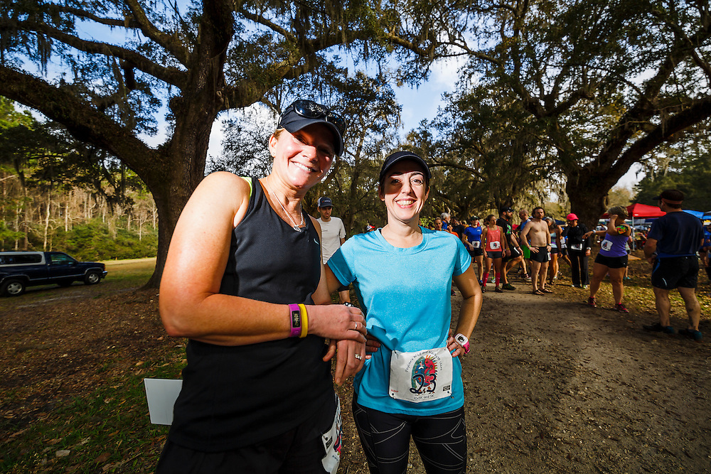 Images from Peytons Wild and Wacky 5k Ultra race at Laurel Hill County Park in Mt. Pleasant, South Carolina near Charleston.