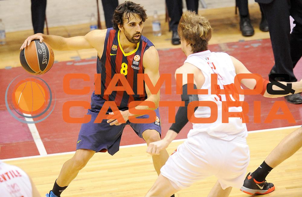 DESCRIZIONE : Milano Eurolega Euroleague 2013-14 EA7 Emporio Armani Milano FC Barcelona<br /> GIOCATORE : Victor Sada<br /> CATEGORIA : Palleggio Tecnica<br /> SQUADRA : FC Barcelona<br /> EVENTO : Eurolega Euroleague 2013-2014<br /> GARA : EA7 Emporio Armani Milano FC Barcelona<br /> DATA : 02/04/2014<br /> SPORT : Pallacanestro <br /> AUTORE : Agenzia Ciamillo-Castoria/A.Giberti<br /> Galleria : Eurolega Euroleague 2013-2014  <br /> Fotonotizia : Milano Eurolega Euroleague 2013-14 EA7 Emporio Armani Milano FC Barcelona<br /> Predefinita :
