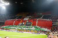 "La curva dei tifosi del Milan<br /> Milano 07/10/2012 Stadio ""San Siro""<br /> Football Calcio Serie A 2012/13<br /> Milan v Inter<br /> Foto Insidefoto Paolo Nucci"