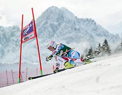 28.12.2013, Hochstein, Lienz, AUT, FIS Weltcup Ski Alpin, Lienz, Riesentorlauf, Damen, 1. Durchgang, im Bild Taina Barioz (FRA) // during the 1st run of ladies giant slalom Lienz FIS Ski Alpine World Cup at Hochstein in Lienz, Austria on 2013-12-28, EXPA Pictures © 2013 PhotoCredit: EXPA/ Michael Gruber