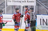 2020-01-19 | Umeå, Sweden: Teg (26) Patrik Enberg score 3-0 to Teg in AllEttan during the game  between Teg and Vallentuna at A3 Arena ( Photo by: Michael Lundström | Swe Press Photo )<br /> <br /> Keywords: Umeå, Hockey, AllEttan, A3 Arena, Teg, Vallentuna, mltv200119