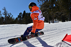 Europa Cup Finals Banked Slalom, GARCIA FRESNEDA Adrian, ESP at the 2016 IPC Snowboard Europa Cup Finals and World Cup